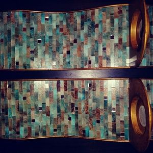 PIER 1 Mosaic Wall Sconces